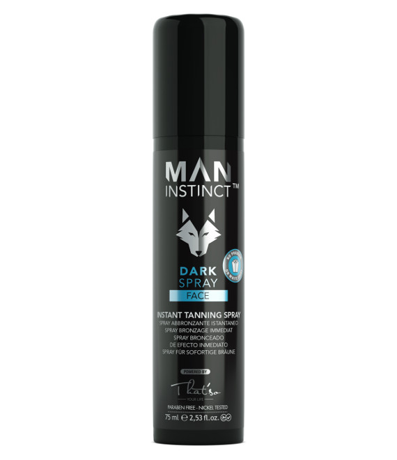 man instinct dark spray