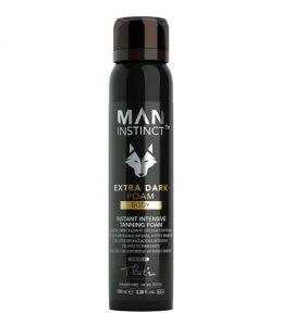 man instinct extra dark foam