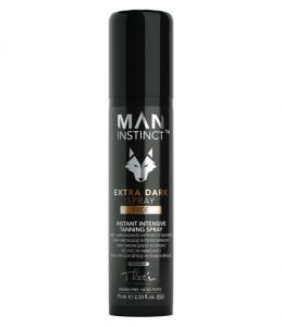 man instinct extra dark spray